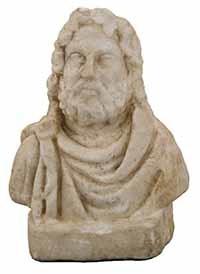 3D Model of the bust of Serapis