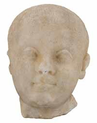 3D Model of the head of a child
