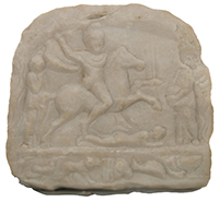3D Model of Thracian Rider relief