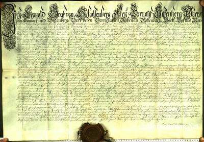 Urkunden 1740 VII 01