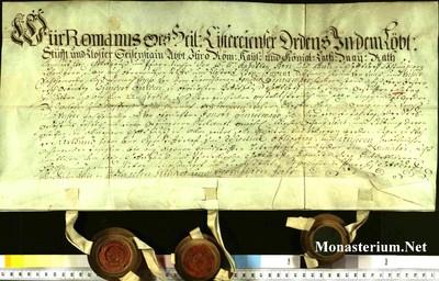 Urkunden 1740 XII 31
