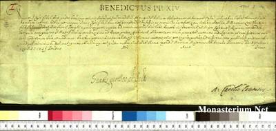 Urkunden 1741 I 14