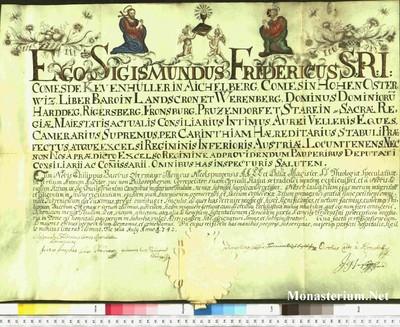 Urkunden 1742 VII 03