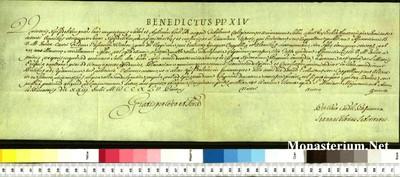 Urkunden 1745 VII 23