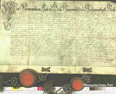 Urkunden 1747 V 05