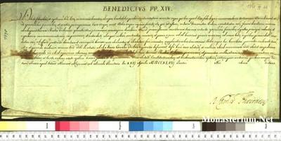 Urkunden 1748 IV 22