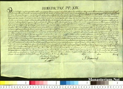 Urkunden 1750 II 19