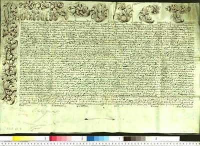 Urkunden 1750 XII 07