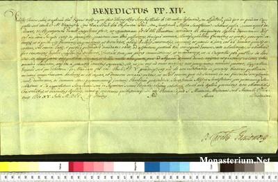 Urkunden 1752 VII 15
