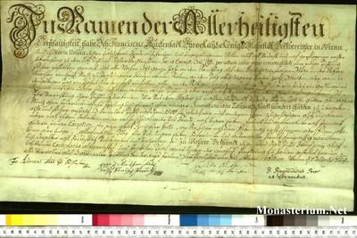 Urkunden 1754 III 01