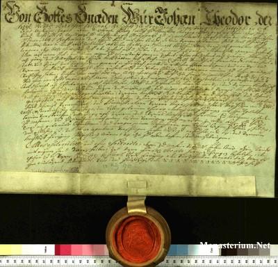 Urkunden 1754 III 14