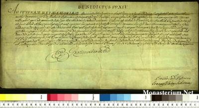 Urkunden 1754 XI 15