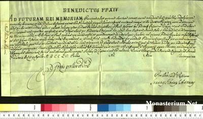 Urkunden 1755 IV 07