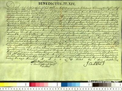 Urkunden 1755 XI 29