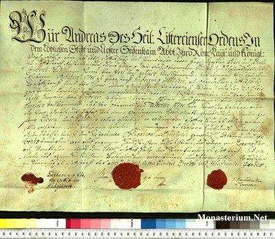 Urkunden 1756