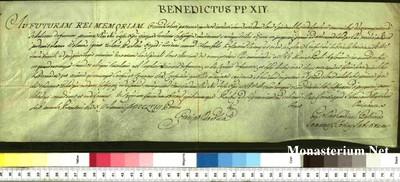 Urkunden 1758 I 12