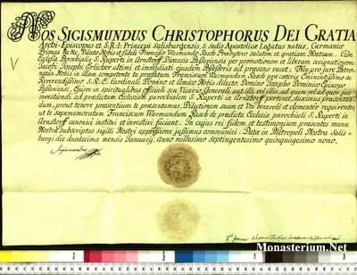 Urkunden 1759 I 12