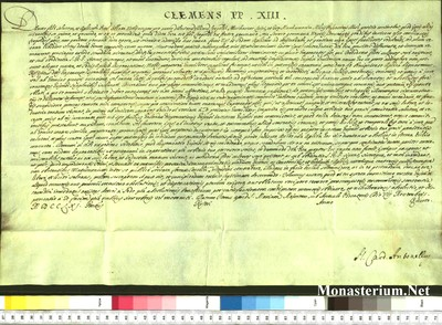 Urkunden 1759 XI 07