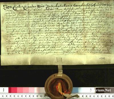 Urkunden 1762 IV 26