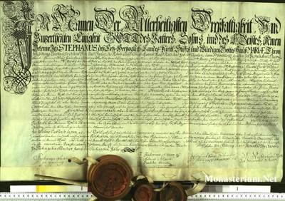 Urkunden 1762 X 16
