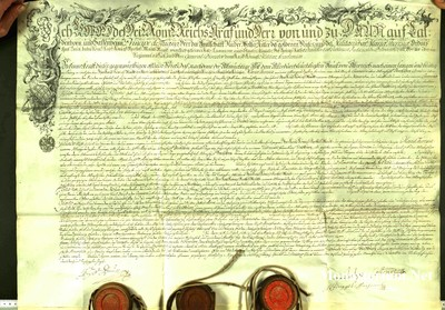 Urkunden 1763 XI 28