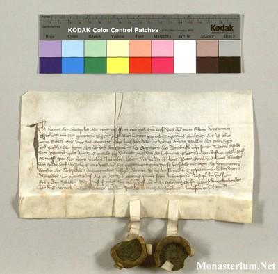 Urkunden 1409 XI 25