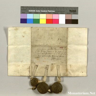 Urkunden 1417 VIII 01