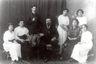 Reprofoto. Artur Kapp Astrahani muusikakooli direktorina koos õpilaste ja  õpetajatega. 1913.