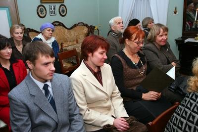 Foto. Kreutzwaldi mälestuspäev. Publik saalis. Võru, 14.12.2007.