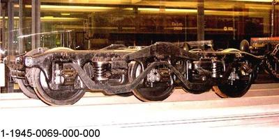 Drehgestell amerikanischer Bauart, Modell 1: 5