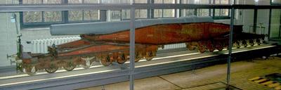 Eisenbahngeschütz Essen 99573--99576, Krupp, Modell 1:5