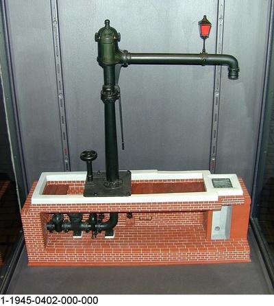 Preußischer Wasserkran, Modell 1:5