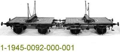 Langholzwagenpaar Altona 47000/001, Modell 1:5