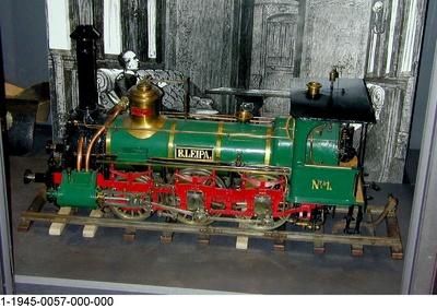 Schnellzuglok B.LEIPA der Böhmischen Nordbahn, Modell 1:12