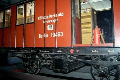 Hilfszug-Gerätewagen Berlin 19493 Anhalter Bahnhof, Modell 1:5