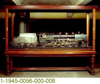 Schnellzugdampflok 03 214 der Deutschen Reichsbahn, Modell 1:10