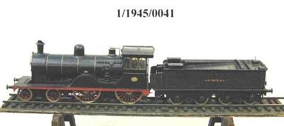 Schnellzuglok 2672 der Belgischen Staatsbahn, Modell 1:10