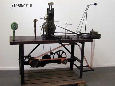 Topfkratzermaschine, Leonische Industrie