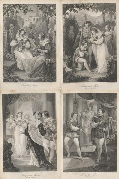 Minerva Taschenbuchausgabe für das Jahr 1833; Jg. 23 (=N.F., Jg. 2). Mit acht Kupfern von C.P. Geissler