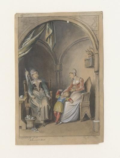 Elisabeth, Maria und Karl