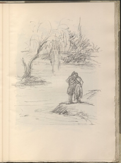 Das Pärchen am Fluß