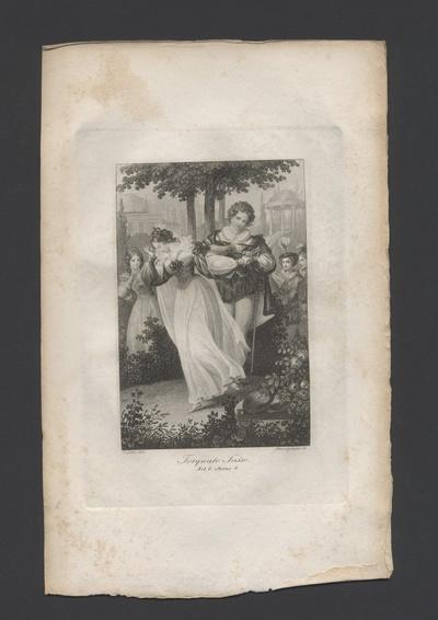 Torquato Tasso, Act V, Scene 4 Tasso und die Prinzessin