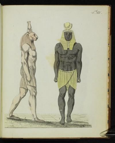 14. Tafel Ägyptische Gottheiten