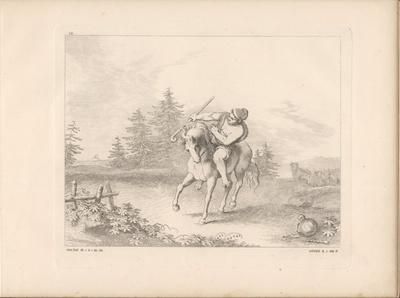 Die Geschichte vom neidischen Pferd