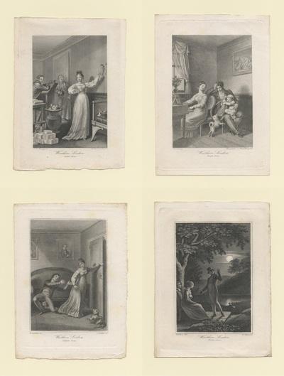 8 Kupfer zu Goethes Die Leiden des jungen Werthers