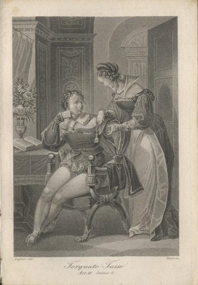 Torquato Tasso, Act IV, Scene 2 Tasso und Leonore
