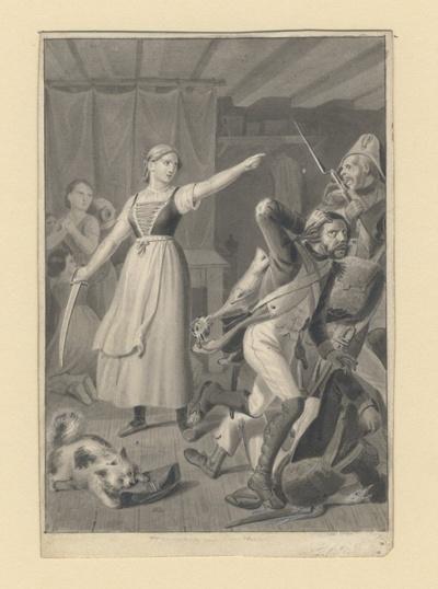 Dorothea beschützt die Kinder