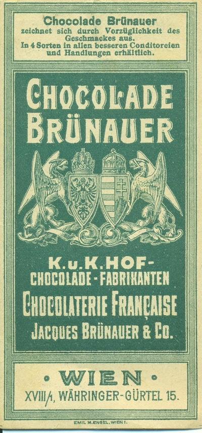Chocolade Brünauer