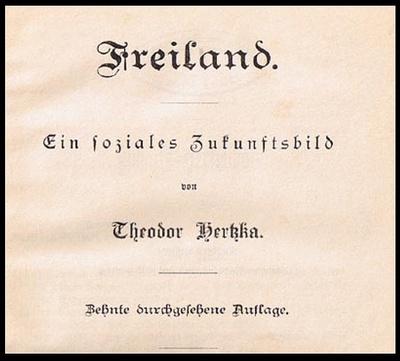Buch Theodor Hertzka: Freiland