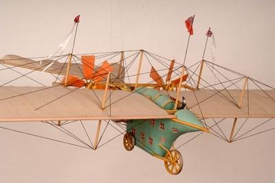 Modell Flugversuch Henson
